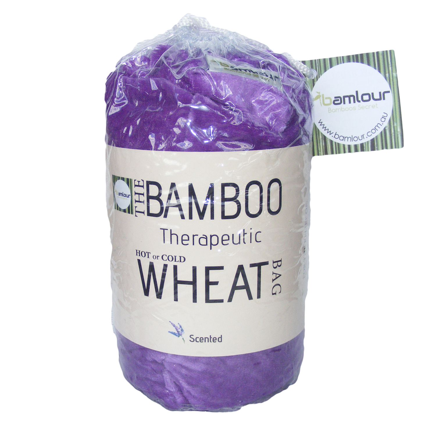 Wheat bag in packaging - hooked on bamboo