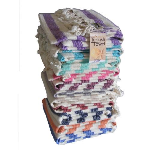 Bamboo Turkish Towel - Acelia Style