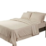 Bamboo sheets-sand colour-Hooked On Bamboo