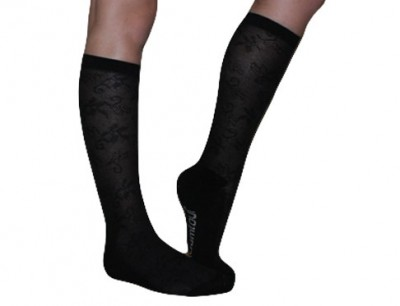 ladies bamboo lace socks - hooked on bamboo