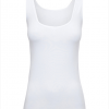 Tank Top White - hooked on bamboo