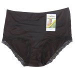 Bamboo undies - Black - hooked on bamboo