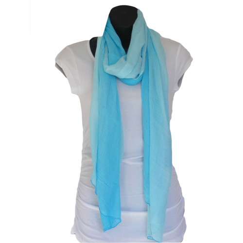 Blue Bamboo Scarf - Hooked On Bamboo