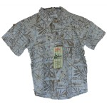 Bamboo Boys Dress Shirt Patterned Bamboo Shirt - Hooked On Bamboo