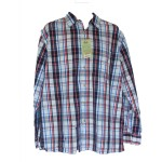 Men's Classic Check Long Sleeve Bamboo Shirt - Hooked On Bamboo