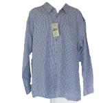 Men's Long Sleeve Small Check Bamboo Shirt - Hooked On Bamboo