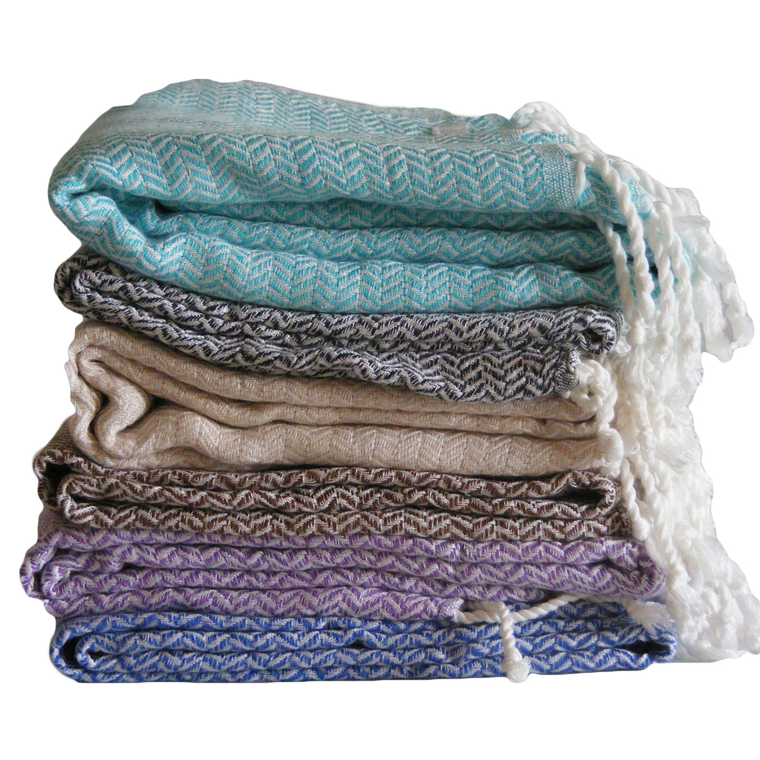 Bamboo Turkish Towel - Nuage Style - Hooked On Bamboo