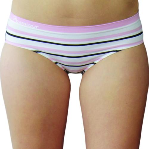 Bamboo Striped Low Rise Bikini - Hooked on Bambo